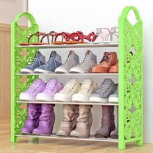 Минималистский несущие сильной современной моды Организатор Бесплатная агрегат Съемный хранения 4-слой творческой бабочка обуви стойки