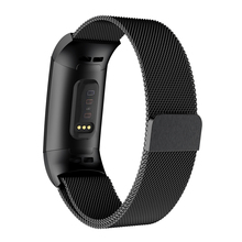 Stainless Steel Magnetic Milanese Loop Band for Fitbit Charge 3 Replacement smart Wristband Strap for Fitbit Charge3 Watchband все цены