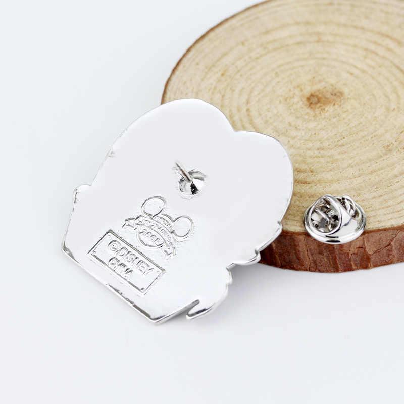 Mimpi Buruk Sebelum Natal Bros Jack London Tengkorak Indah Bros Pin Fashion Punk Kekasih Laporan Perhiasan Aksesoris
