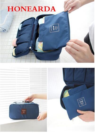 Wholesale Women Portable Travel Storage Bag Underwear Bra Organizer Bag 200PCS/lot