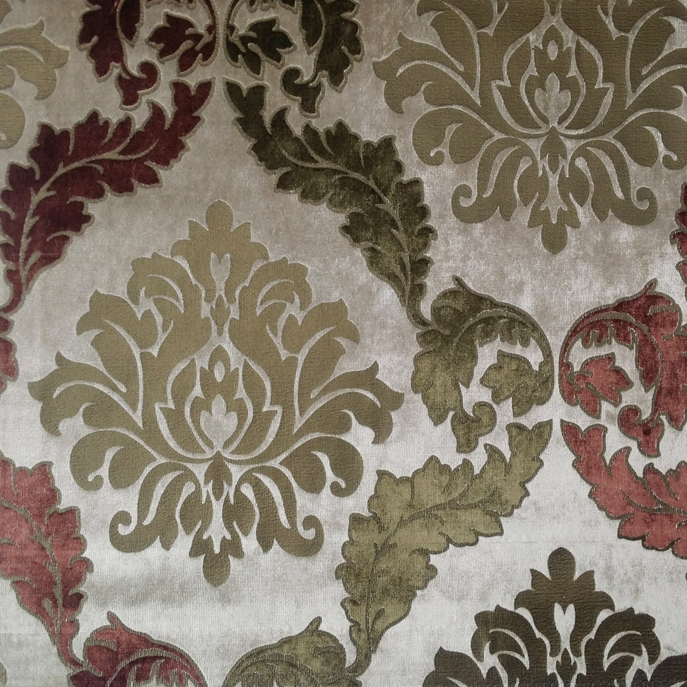 Sofa Fabric Us 17 99 Luxurious Foil Gold Velvet Damask Sofa Chair Curtain Wallcovering Bedboard Upholstery Fabric 140cm Width Sell By Meter In Fabric From Home