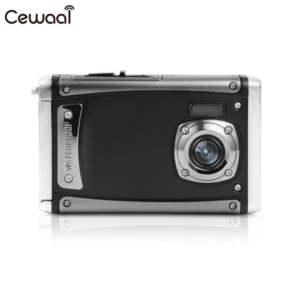Cewaal Waterproof Camera 16MP Pilxel Outdoor 2.4 LCD Camcorder Hiking Stable Precise HD CameraCewaal Waterproof Camera 16MP Pilxel Outdoor 2.4 LCD Camcorder Hiking Stable Precise HD Camera