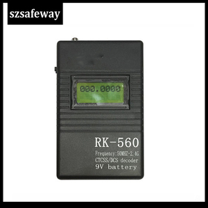 Image 2 - SZSAFEWAY RK560 50MHz 2.4GHz B199a DCS CTCSS רדיו דלפק