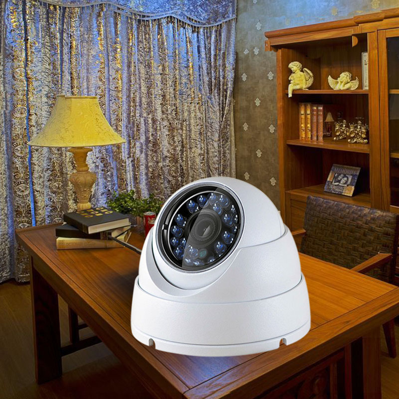 Image 4 - IP Dome Camera 720P 1080P H.264+/H.265 HD Network Indoor IRC 24 LEDs Infrared NightVision ONVIF P2P CMS XMEYE-in Surveillance Cameras from Security & Protection