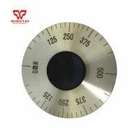 0 500um Stainless Steel Wet Film Rolling Thickness Meter/sheet metal gauge For Paint, ink, coating