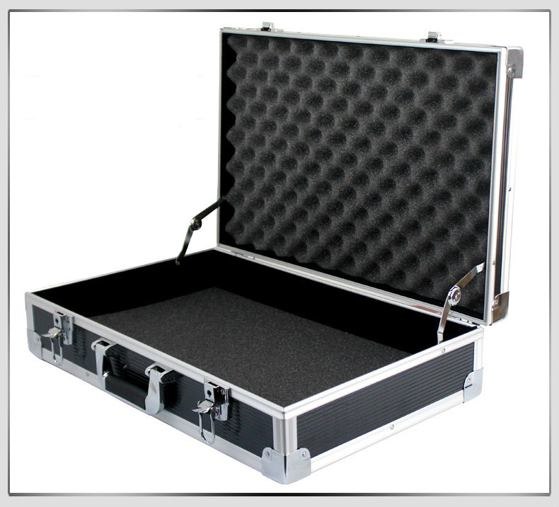 Aluminum Necessary Tools Box Aluminium Metal Storage Carry Case With Diced Foam Black In Tool From Home Improvement On Aliexpress Alibaba