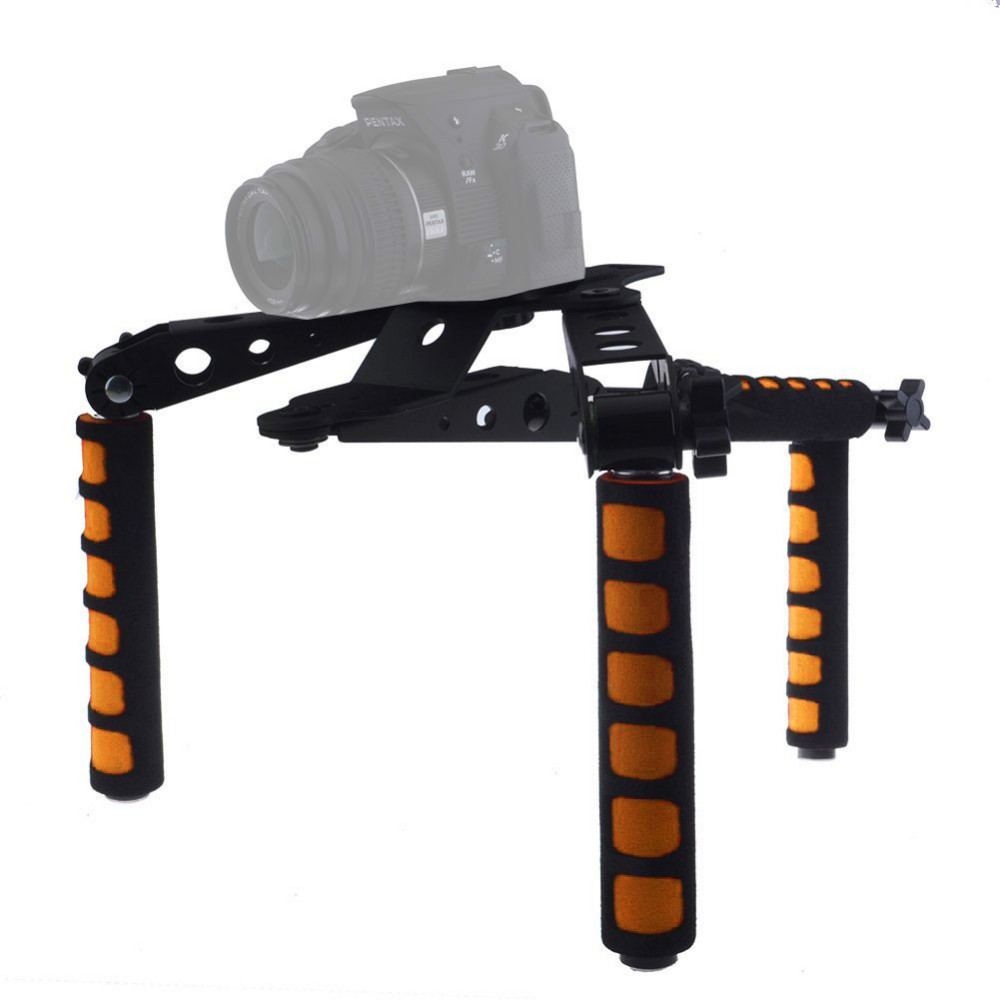 Mcoplus DSLR Shoulder Rig 107D Set Movie Kit Film Making System for Canon Nikon Panasonic Sony DSLR Cameras Video Camcorders new portable dslr rig film movie kit shoulder mount video photo studio accessories for canon sony nikon slr camera camcorder dv