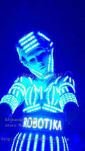 LED robot girl Costume /women LED Clothing / Light suits / LED Robot suits / david robot / n robot