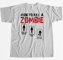 How To Kill A Zombie Choose Aim Dont Miss Survival Mens T-Shirt New T Shirts Funny Tops Tee Unisex