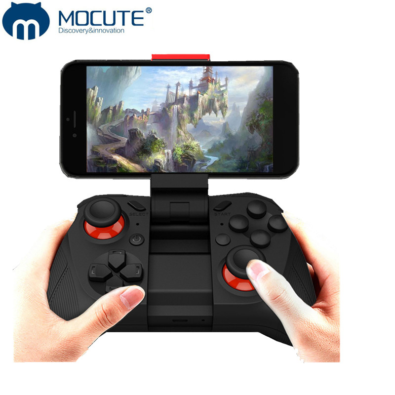 MOCUTE BKA050 wireless Gamepad for phone Android TV box VR game controller bluetooth 3.0 joystick for PC rechargeable game pad
