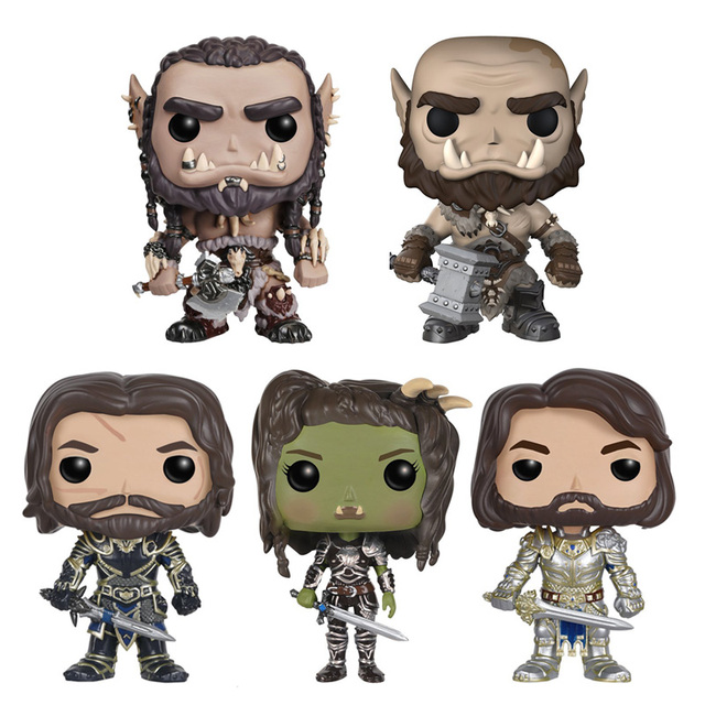 figures pop Warcraft vinyl