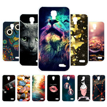 3D DIY Soft Silicone Case For alcatel Pop 2 Case Coque For Alcatel OneTouch Pop 2 M5 5042 Cover Painted Case Back Cover Housing сотов��й телефон alcatel onetouch 5056d pop 4 plus dark grey