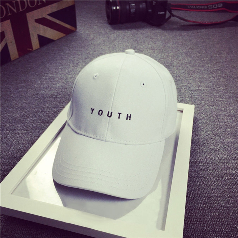 c4f6f5754d4 2016 Kpop YOUTH Embroidery Snapback Baseball Hat Unisex Trend Cap hip hop  baseball cap-in Baseball Caps from Apparel Accessories on Aliexpress.com