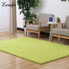 Zeegle Shaggy Large Carpets For Living Room Non-slip Kids Bedroom Carpet Home Great Room Rugs Washable Floor Mats Sofa Table Mat(China)