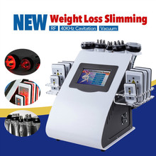 2019 New Model 40k Ultrasonic liposuction Cavitation 8 Pads LLLT lipo Laser Slimming Machine Vacuum RF Skin Care Salon Spa vacuum rf skin care salon spa equipment 40k ultrasonic liposuction cavitation 8 pads
