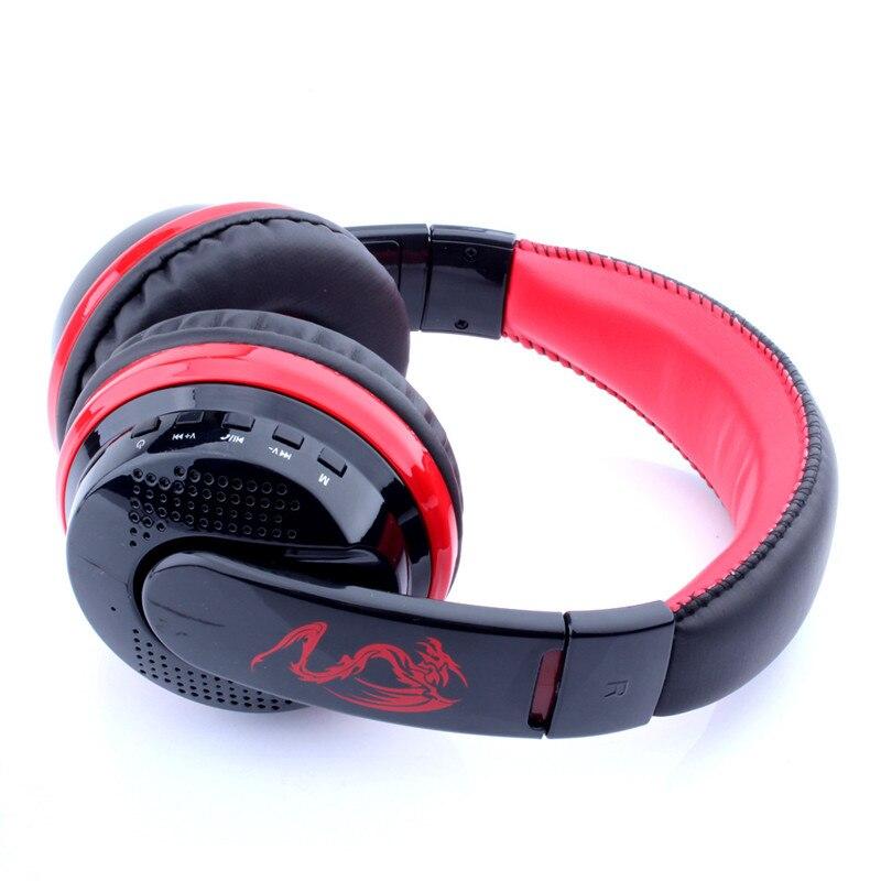 ФОТО MX666 Wireless Bluetooth Stereo Earphone Over-Ear Bluetooth4.0 Hands-free with Mic Headset FM/TF Card 3.5mm AUX Ear phones