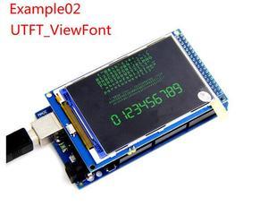 Image 2 - شحن مجاني! شاشة 3.2 بوصة TFT LCD وحدة الترا HD 320X480 متوافقة مع اردوينو لوحة MEGA 2560 R3