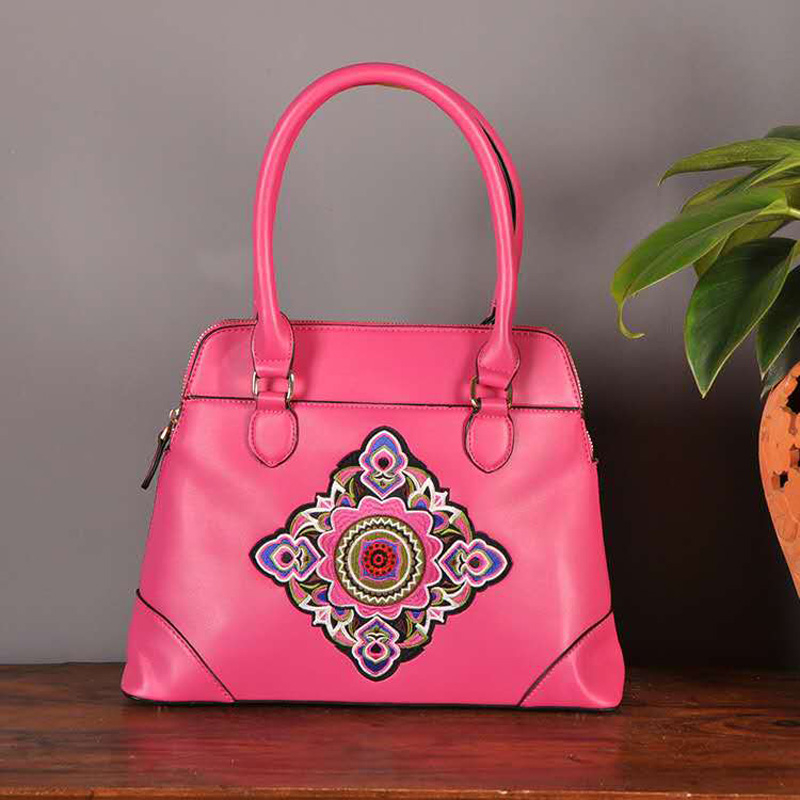 New National Style Women Shoulder Bags Fashion Embroidery Design Women Bag Best Christmas Gift For Women handbag