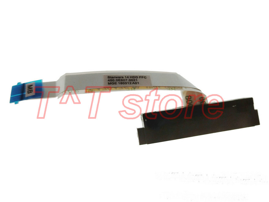 original laptop HDD hard drive cable connector 450.0E807.0021 test good free shipping