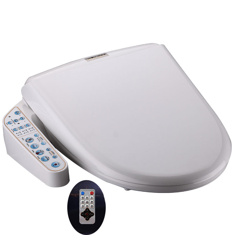 Remote Smart Toilet Cover Warm Water Electric Bidet Cover Intelligent Toilet Seat Water Washing Electric Toilet Seat Bidet warm water and wind smart toilet seat bidet cover electric bidet toilet seat cover water wash bathroom smart toilet bidet