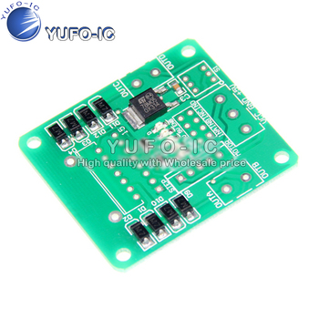 PCB board SMD components have been attached L298N motor drive module driver board stepper robot intelligence image