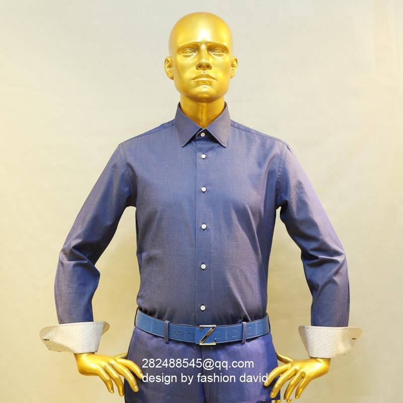font b jeans b font blue font b men s b font formal business dress