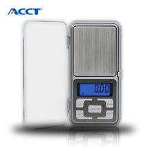 ACCT 100g * 0.01g Mini Portable Weight Scale High Precision Electronic Balanca Digital scale Diamond Gold Jewelry Weighing Tools acct 200g x 0 01g digital scale electronic weight scale precision portable pocket jewelry kitchen weighing tools lcd display