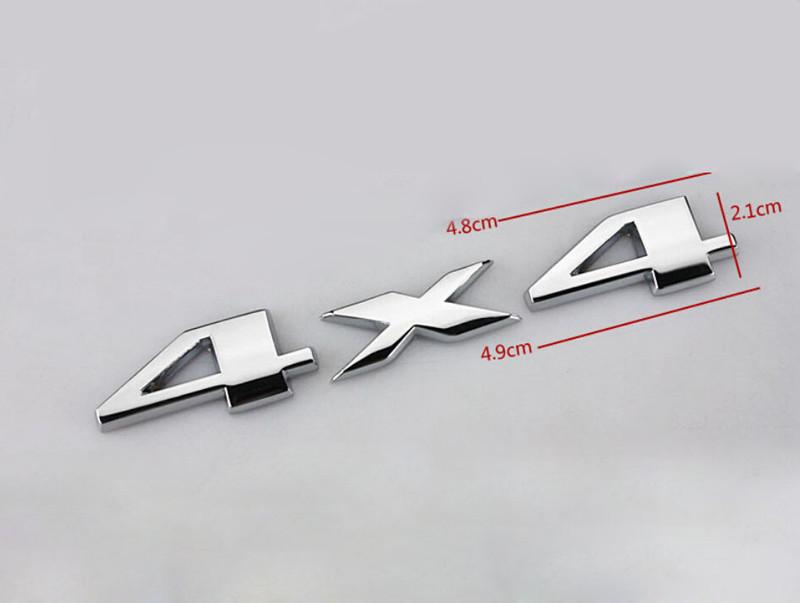 DSYCAR 3D 4x4 Moto Car sticker Logo Emblem Badge Car Styling for Universal Cars Motorcycle Decorative Accessories Sadoun Sales International