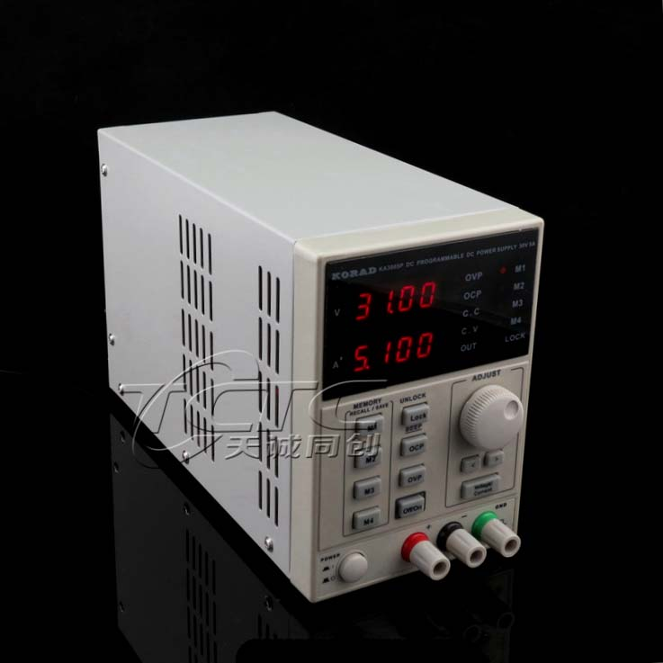 KA3005D milliamp DC adjustable power supply 30V5A program-controlled power meter over 3005SI