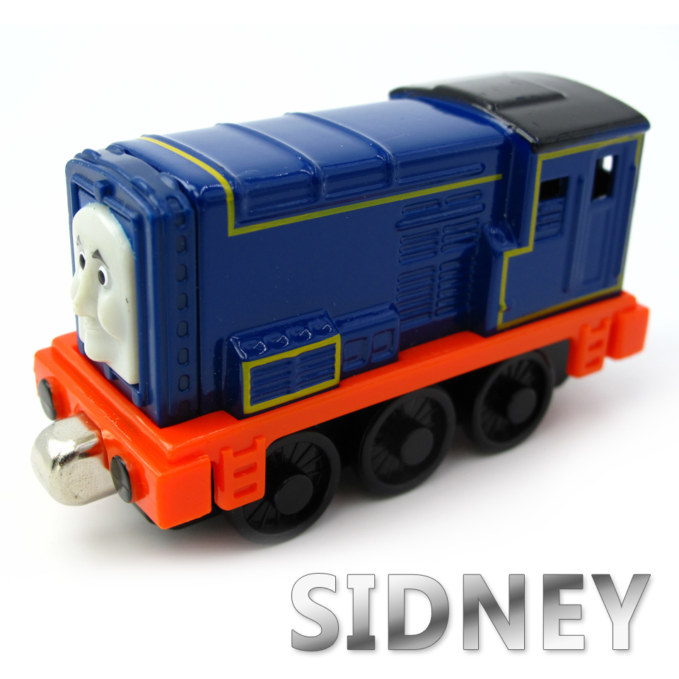 Diecasts Vehicles Thomas T120D SIDNEY Thomas And Friends Magnetic Tomas Truck Car Locomotive Engine Railway Train Toys for Boys