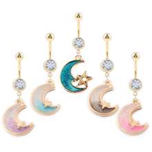 hot deal buy 1pc bohemian piercing ombligo body jewelry dream cacther belly button ring for women body piercing navel piercing accessories