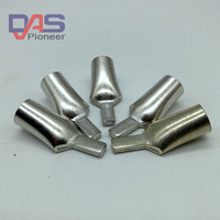 Copper Tin Plated Circuit Breaker Plug In Pin-Shaped Cable Wire Lug Insert Needle Naked Crimp Terminal