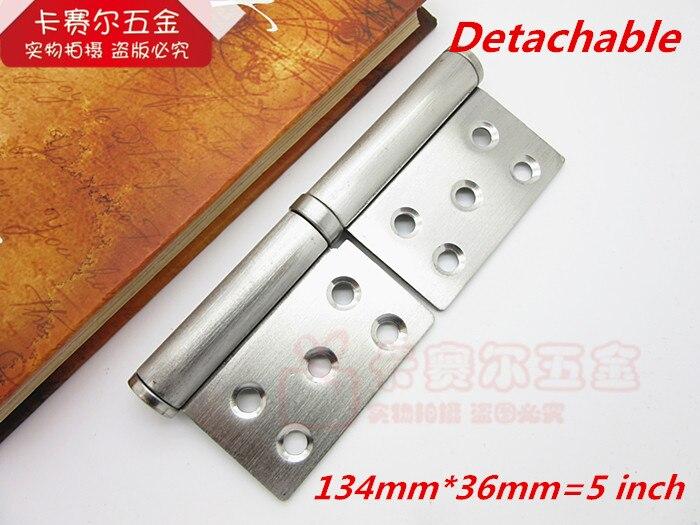 Detachable Stainless Steel Hinges 5 Inch Door Hinge ...