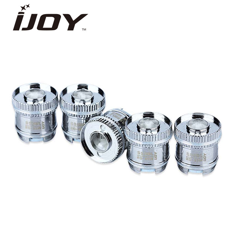Original 5pcs IJOY Reaper Dual Coils Head 0.5ohm/0.6ohm Replacement Core for IJOY Reaper Tank Atomizer Vape Electronic Cigarette