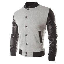 Popular Mens Varsity Leather Jacket-Buy Cheap Mens Varsity