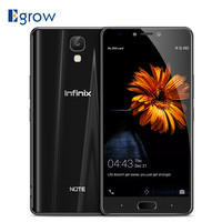 Infinix Note 4 ( X572 ) 4G Smartphone Android 7.0 5.7'' MTK6753 Octa Core 1.3GHz 3GB 32GB 13.0MP Rear Cam Fingerprint Cellphone