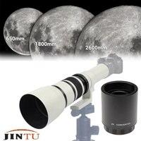 JINTU 500mm-1000mm f/6.3 망원 렌즈 + 2x 텔레 컨버터 렌즈 ForNikon D3200 D3300 D3400 D5300 D5400 D5500 D5600 D7500 D850