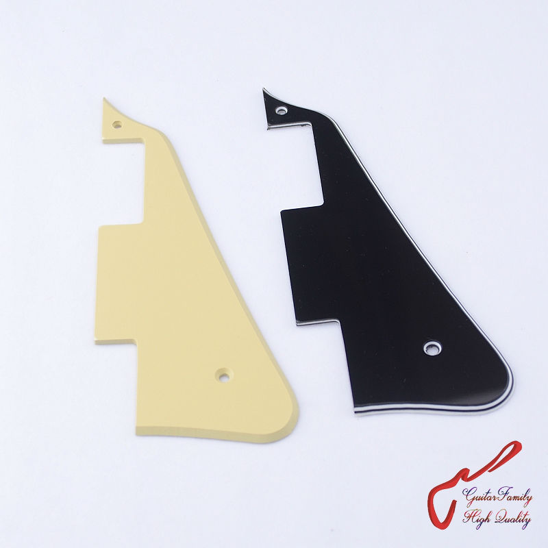 1 Piece GuitarFamily  Pick Guard Pickguard For LP Electric Guitar ( without bracket and screw ) MADE IN KOREA musiclily 3ply pvc outline pickguard for fenderstrat st guitar custom