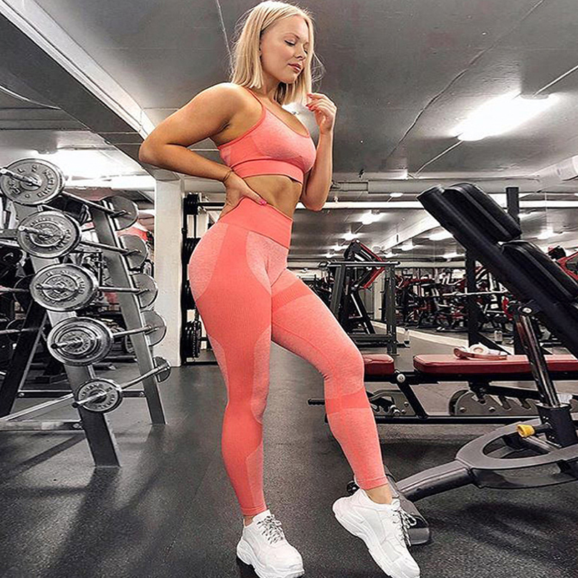 Sexy High Waist Elasticity Leggings Fitness Feminina Sports Workout Female Women Black Leggings Clothes 2019 Warm Casual Jegging in Leggings from Women 39 s Clothing