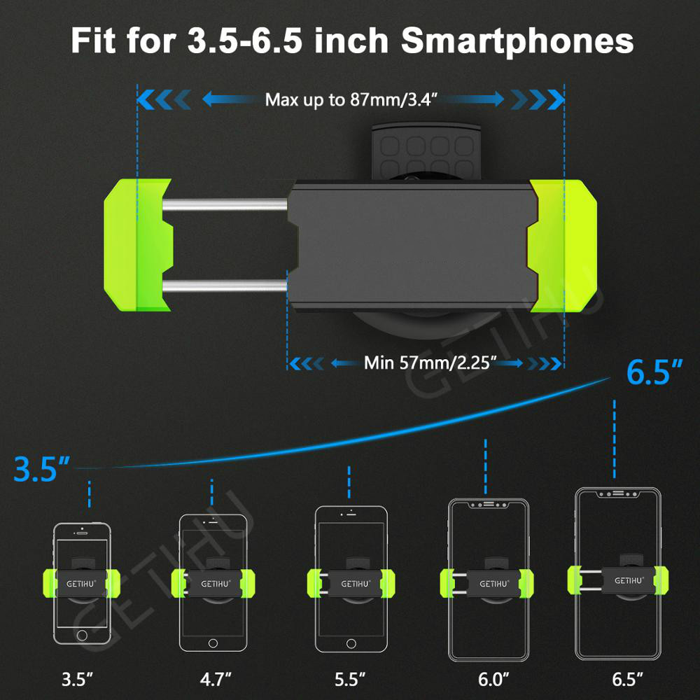 Image 5 - Car Phone Holder for IPhone X XS Max 8 7 6 Samsung 360 Degree Support Mobile Air Vent Mount Car Holder Phone Stand In Car-in Universal Car Bracket from Automobiles & Motorcycles