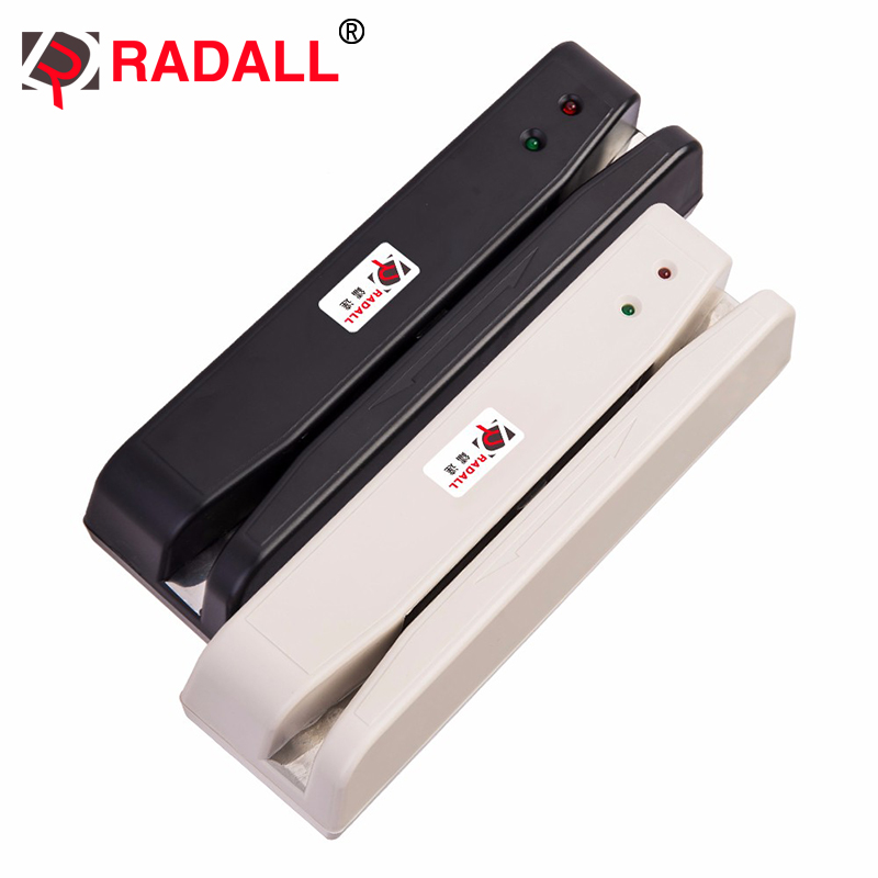 Lector de tarjetas de banda magnética USB RD-400 lector de tarjetas de 2 pistas MSR lector de tarjetas POS Tarjeta de banda magnética 2 pista
