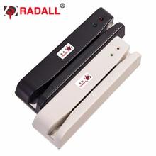 Lector de tarjetas de banda magnética USB, lector de tarjetas de 2 pistas MSR, lector de posición, tarjeta de banda magnética, 2 pistas