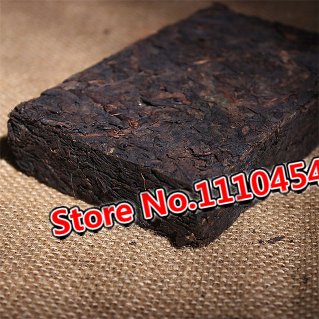 Promotion Ripe Pu'er Chinese Puer Tea Brick 45 Years Old Shu Pu-erh Ancient Tree Yunnan pu erh Tea Pu-erh Tea