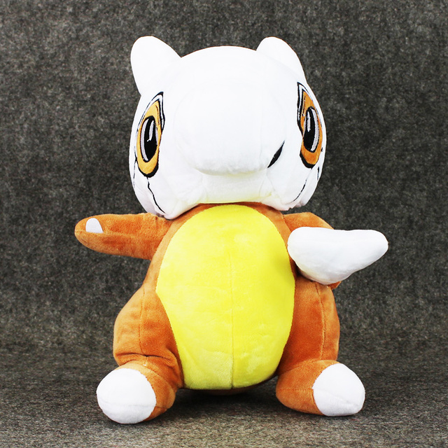 Large 30cm Poke Plush Toy Poke Cubone Plush Toys Soft Stuffed Animals Toys Figure Doll Chirstmas Gift for Kids