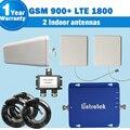 2 Antenas de Interior GSM 900 mhz 4G LTE 1800 mhz Ganancia 65dB Doble Banda Celular Repetidor De Señal GSM Celular Amplificador de refuerzo