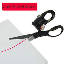 Laser Guided Sewing Scissors DIY Infrared Positioning Professional Stainless Steel For Needlework Supplies