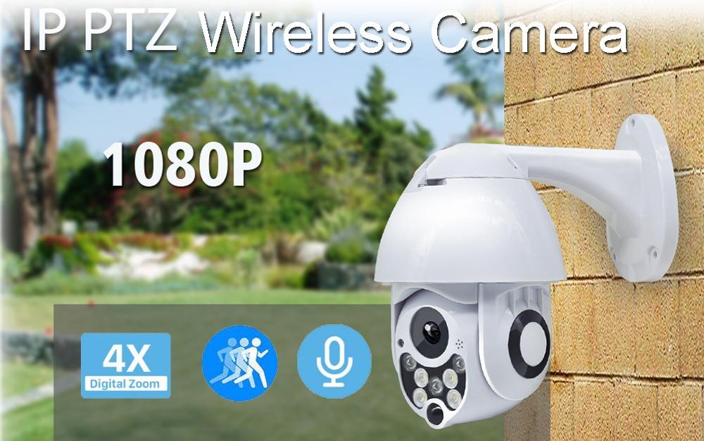 HTB1BUjJSpzqK1RjSZFvq6AB7VXav SeeSii 1080P Cloud Storage Wireless WIFI Camera Outdoor PTZ IP Camera Speed Dome CCTV Security Cameras P2P Camara WIFI Exterior