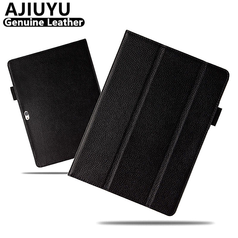 Genuine Leather For Huawei MediaPad M2 10.0 Case 10.1 M2 10 Cowhide Smart Cover Protective Tablet M2-A01M M2-A01L M2 A01w Case mediapad m2 10 0 flip pu leather case cover fundas 10 1 inch protective stand for huawei mediapad m2 10 0 a01w m2 a01l m2 a01w