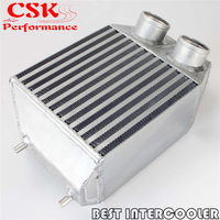 Twin 2 rows Side Mount Intercooler 2.25 In/outlet Fits For Renault 5 GT Turbo 85 91