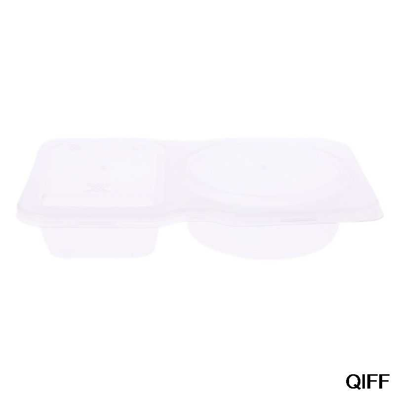 Wholesale 140ml Clear Plastic Sauce Chutney Cups Food Container Slime Storage Box Case With Lid May06